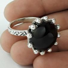 Stunning Black Onyx Gemstone Ring Sterling Silver Jewellery Supplier