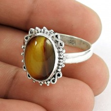 Two Tones Royal Dark! 925 Silver Tiger Eye Ring Wholesaler India