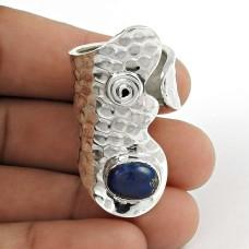 925 Sterling Silver Jewellery Rare Lapis Gemstone Ring