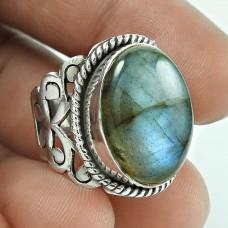 Beautiful Design! 925 Silver Labradorite Gemstone Ring Hersteller