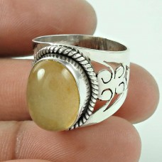 925 Sterling Silver Antique Jewellery Designer Aventurine Gemstone Ring De gros