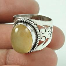 925 Sterling Silver Antique Jewellery Designer Aventurine Gemstone Ring De gros