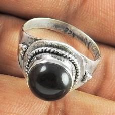 Pretty 925 Sterling Silver Smoky Quartz Gemstone Ring Jewellery