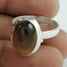 Natural! 925 Silver Tiger Eye Ring Wholesale