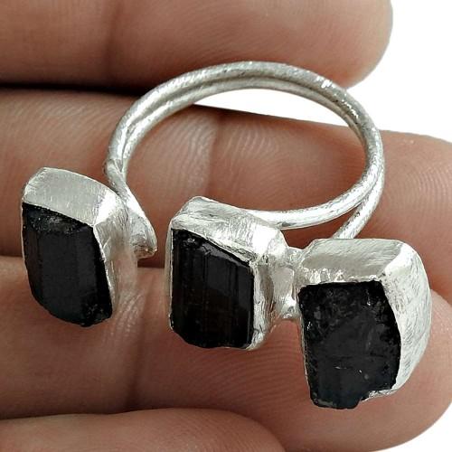 925 Sterling Silver Antique Jewellery Beautiful Kyanite Gemstone Ring