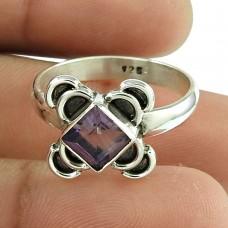 Rattling Amethyst Gemstone Ring Sterling Silver Jewellery Wholesale