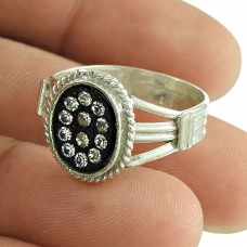Beautiful Design White CZ Engagement Ring Sterling Silver Fashion Jewellery