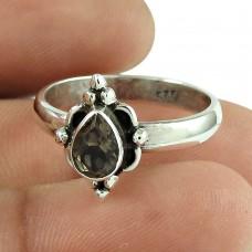 Scrumptious Garnet Gemstone Ring 925 Sterling Silver Jewellery