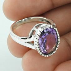 So In Love! 925 Silver Amethyst Ring