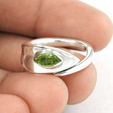 All Of Us !! Peridot 925 Sterling Silver Ring