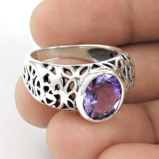 A Secret! Amethyst 925 Sterling Silver Ring