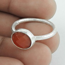 Bright Side! Carnelian 925 Sterling Silver Ring Lieferant