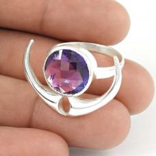 Captivating! Amethyst 925 Sterling Silver Ring