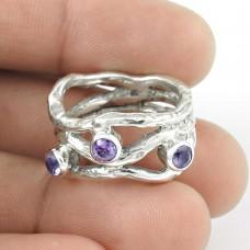 Summer Stock !! Amethyst 925 Sterling Silver Ring