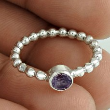 Big Relief Stone!! Amethyst 925 Sterling Silver Ring