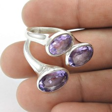 Big Love's Victory! Amethyst 925 Sterling Silver Ring