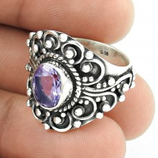 Big Special Moment!! Amethyst 925 Sterling Silver Ring