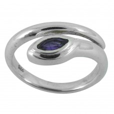 The One! Amethyst 925 Sterling Silver Ring