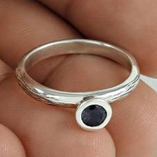 Jumbo Fantastic! Iolite 925 Sterling Silver Ring