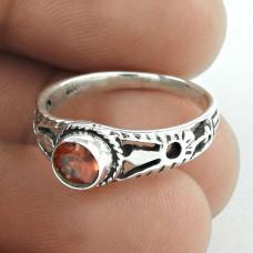 Big Dreamer!! Garnet 925 Sterling Silver Ring