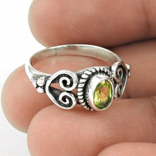 Big New Awesome!! Peridot 925 Sterling Silver Ring