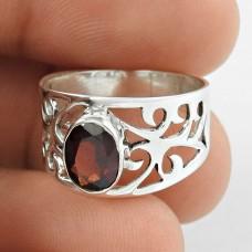 Ivy Precious ! Garnet 925 Sterling Silver Ring