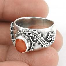 My Sweet ! Carnelian 925 Sterling Silver Ring