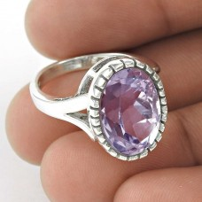 Great! Amethyst 925 Sterling Silver Ring