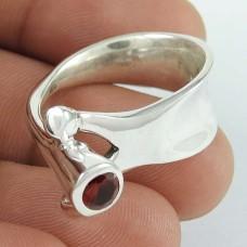 Big Fabulous!! Garnet 925 Sterling Silver Ring