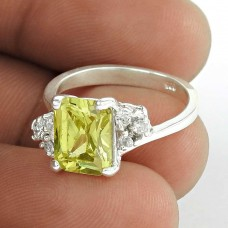 Attractive !! CZ 925 Sterling Silver Ring Supplier