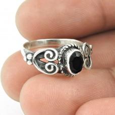 Supplier Black Onyx Gemstone 925 Sterling Silver Ring