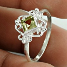 Plushy !! Citrine Gemstone 925 Sterling Silver Ring