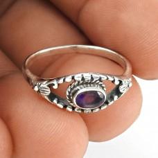 Big Secret Design ! 925 Sterling Silver Amethyst Ring Fournisseur