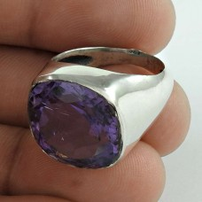Hot! 925 Sterling Silver Amethyst Ring