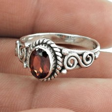 Big Falling In Love!! 925 Sterling Silver Garnet Ring Fournisseur