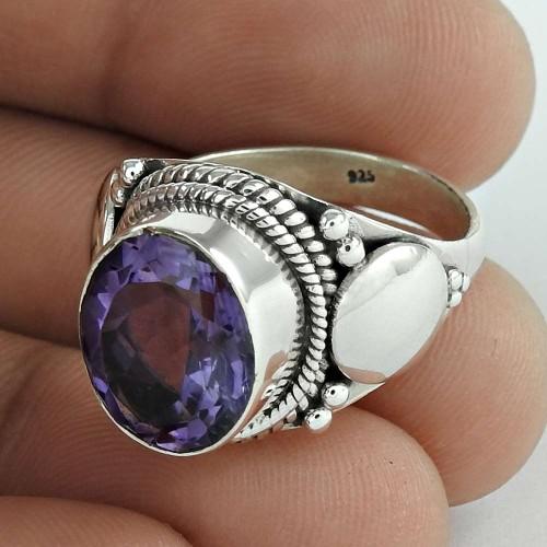 Lavender Dreams!! 925 Sterling Silver Amethyst Ring Fournisseur