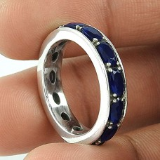 Scenic!! 925 Sterling Silver Iolite Ring
