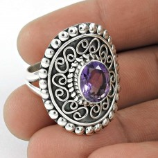 Great!! 925 Sterling Silver Amethyst Ring