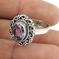 Lady Elegance !! 925 Sterling Silver Amethyst Ring