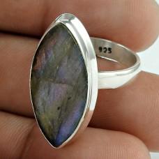 New Style Of ! Labradorite Gemstone 925 Sterling Silver Ring