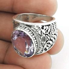 Wholesale ! Amethyst Gemstone Silver Jewellery Ring