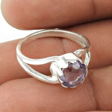 Exporter ! Amethyst 925 Sterling Silver Ring Jewellery
