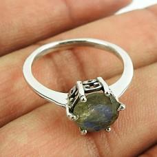 Stunning Labradorite Gemstone Sterling Silver Ring 925 Silver Jewellery