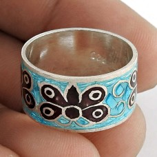 My Sweet!! 925 Sterling Silver Enamel Ring Manufacturer India