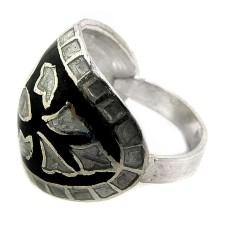 Paradise Lantern!! 925 Sterling Silver Enamel Ring