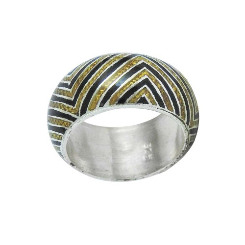 Exporter !! 925 Sterling Silver Enamel Ring Grossiste