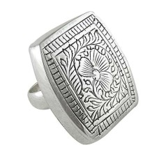 Large Fashion!! Handmade 925 Sterling Silver Ring Supplier