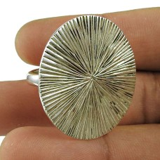 Charming Sterling Silver Ring 925 Silver Vintage Jewellery