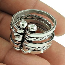 Stunning 925 Sterling Silver Spinner Ring Wholesale Silver Jewellery