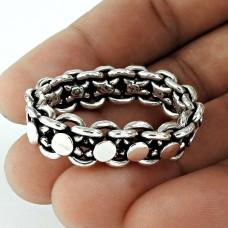 Spell! Handmade 925 Sterling Silver Ring